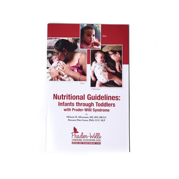 nutritional guidelines infants through toddlers with prader willi
